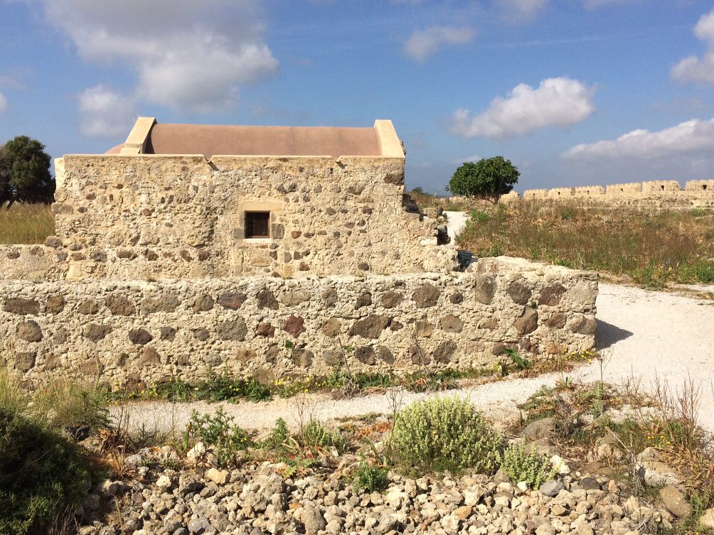 Kapelle im Antimáchia Kastell