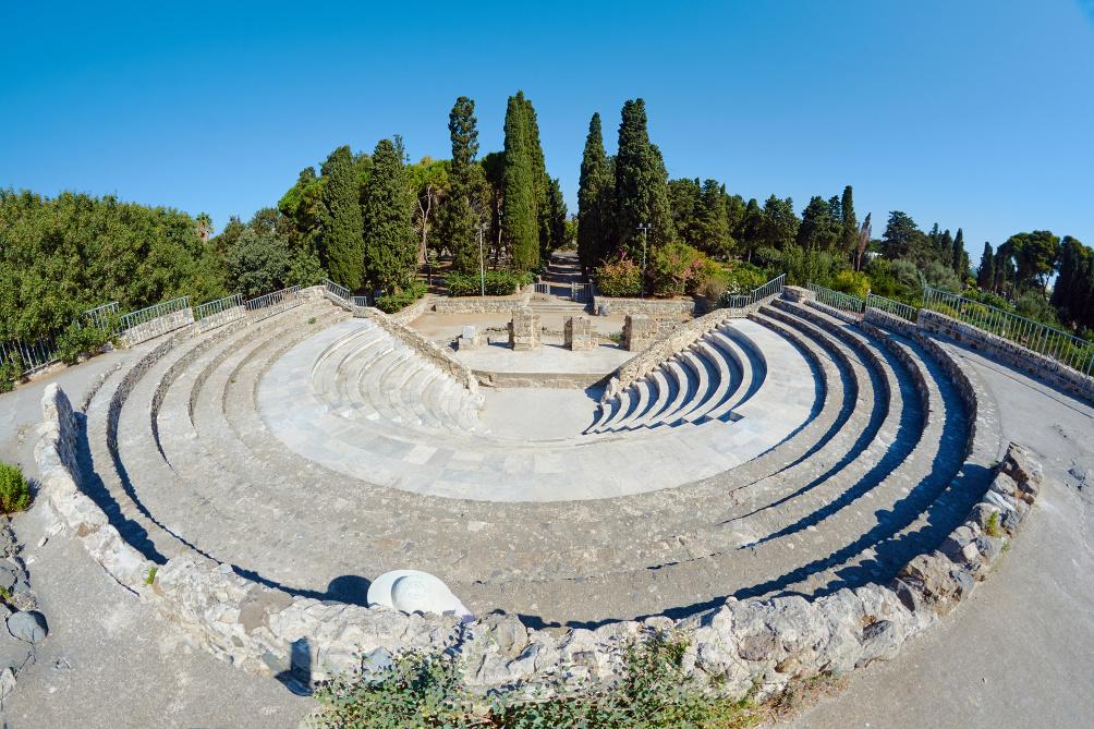 Amphitheater Odeon in Kos-Stadt