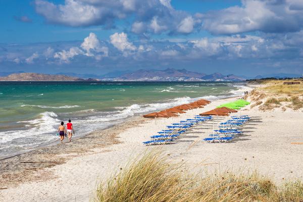 Strand von Mastichári